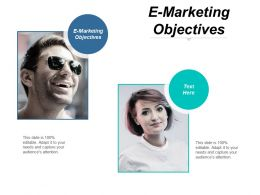 E Marketing Objectives Ppt Powerpoint Presentation Portfolio Summary Cpb