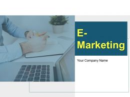 E Marketing Powerpoint Presentation Slides
