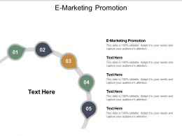 E Marketing Promotion Ppt Powerpoint Presentation Portfolio Templates Cpb