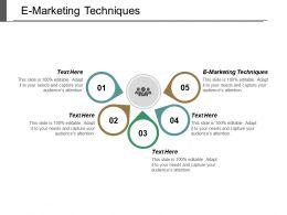 e_marketing_techniques_ppt_powerpoint_presentation_pictures_templates_cpb_Slide01