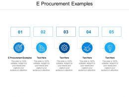 E Procurement Examples Ppt Powerpoint Presentation Styles Images Cpb