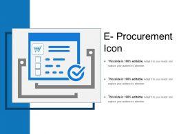 E Procurement Icon