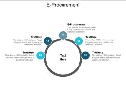 E Procurement Ppt Powerpoint Presentation Gallery Show Cpb