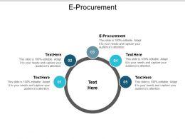 E Procurement Ppt Powerpoint Presentation Gallery Show Cpb