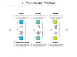 E Procurement Problems Ppt Powerpoint Presentation Show Format Cpb