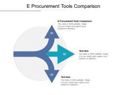 E Procurement Tools Comparison Ppt Powerpoint Presentation Infographics Deck Cpb