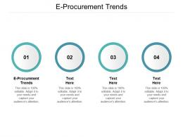 E Procurement Trends Ppt Powerpoint Presentation Summary Background Image Cpb