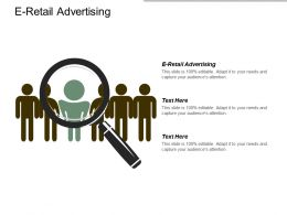 E Retail Advertising Ppt Powerpoint Presentation Gallery Background Designs Cpb