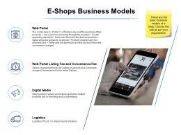 E Shops Business Models Ppt Powerpoint Presentation Images