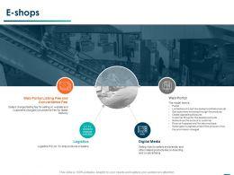 E Shops Digital Media Ppt Powerpoint Presentation Professional Designs