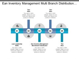Ean Inventory Management Multi Branch Distribution Lean Leadership Skills Cpb