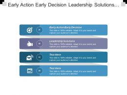 Early Action Early Decision Leadership Solutions Digital Advertising Platforms Cpb