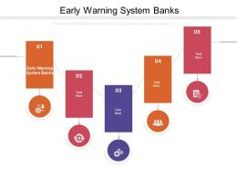 Early Warning System Banks Ppt Powerpoint Presentation Outline Icons Cpb