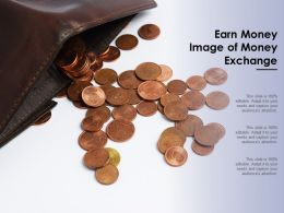 Earn Money Image Of Money Exchange