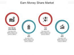 Earn Money Share Market Ppt Powerpoint Presentation Gallery Shapes Cpb