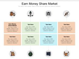 Earn Money Share Market Ppt Powerpoint Presentation Model Background Images Cpb