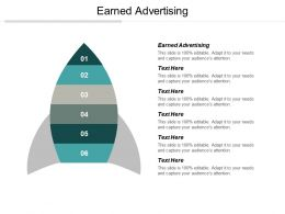 Earned Advertising Ppt Powerpoint Presentation Ideas Cpb