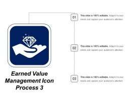 Earned Value Management Icon Process 3
