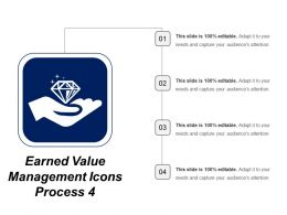 Earned Value Management Icon Process 4
