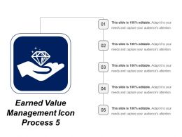 Earned Value Management Icon Process 5