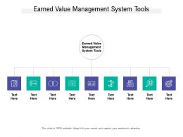 Earned Value Management System Tools Ppt Powerpoint Presentation Summary Pictures Cpb