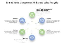 Earned Value Management Vs Earned Value Analysis Ppt Powerpoint Presentation Cpb