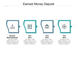 Earnest Money Deposit Ppt Powerpoint Presentation Show Graphic Images Cpb