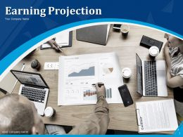 Earning Projection Powerpoint Presentation Slides