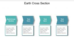 Earth Cross Section Ppt Powerpoint Presentation Professional Infographic Template Cpb