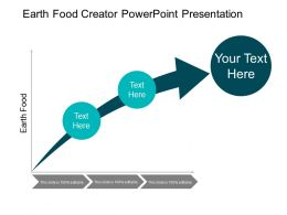 Earth Food Creator Powerpoint Presentation