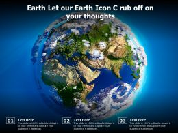 Earth Let Our Earth Icon C Rub Off On Your Thoughts
