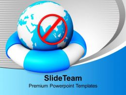 earth_on_a_lifeline_concept_globe_safeguard_powerpoint_templates_ppt_themes_and_graphics_0113_Slide01