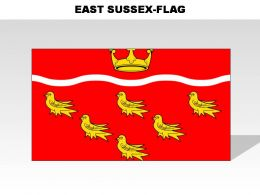 East Sussex Country Powerpoint Flags