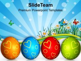 Easter Day Festival Of Colors Celebration Powerpoint Templates Ppt Backgrounds For Slides