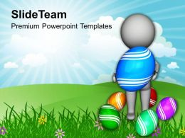 Easter Day Wait For Your Surprises This Powerpoint Templates Ppt Backgrounds Slides