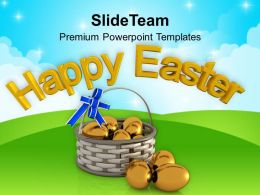 Easter Day Wishes Of Happy For Everyone Powerpoint Templates Ppt Backgrounds Slides