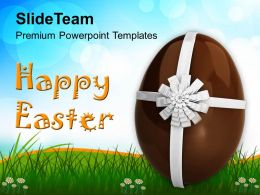 Easter Egg Clipart Gift Of Powerpoint Templates Ppt Backgrounds For Slides