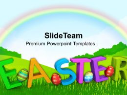 Easter Holiday Holy Of Christians Powerpoint Templates Ppt Backgrounds For Slides