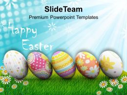 Easter Prayer Origin Of Spring New Life Happy Powerpoint Templates Ppt Backgrounds For Slides