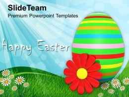 Easter Weekend Happy Day Festival Powerpoint Templates Ppt Backgrounds For Slides
