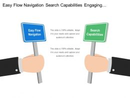 Easy Flow Navigation Search Capabilities Engaging Presentation Constant Updates
