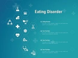 Eating Disorder Ppt Powerpoint Presentation Professional Shapes