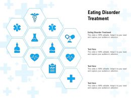 Eating Disorder Treatment Ppt Powerpoint Presentation Visual Aids Example 2015