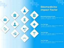 Ebiomedicine Impact Factor Ppt Powerpoint Presentation Infographic Template Pictures