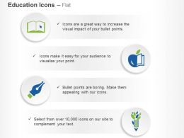 Ebook Back To School Pencil Tree Ppt Icons Graphics