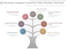 Ebusiness Integration Powerpoint Slide Templates Download