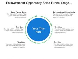Ec Investment And Opportunity Sales Funnel Stage Create Awareness Generate Leads