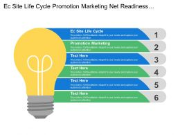 Ec Site Life Cycle Promotion Marketing Net Readiness Evaluation