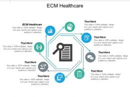 Ecm Healthcare Ppt Powerpoint Presentation Icon Topics Cpb