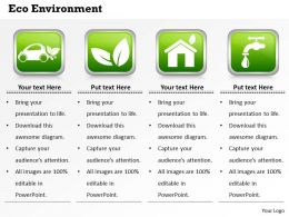 Eco Environment Powerpoint Template Slide
